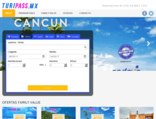 turipass.mx screenshot