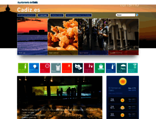 turismo.cadiz.es screenshot