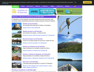 turismo.com.sv screenshot