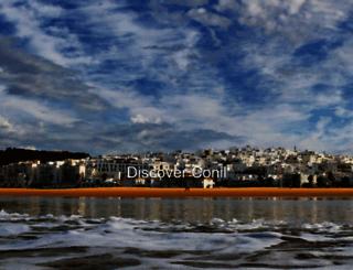 turismo.conil.org screenshot