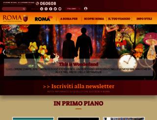 turismoroma.it screenshot