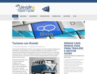 turismosobrerodas.com.br screenshot