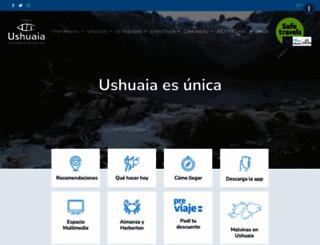 turismoushuaia.com screenshot