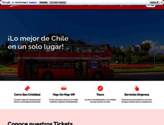 turistik.cl screenshot