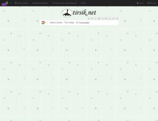 turkcekurtcesozluk.com screenshot