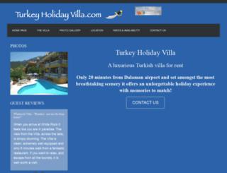 turkeyholidayvilla.com screenshot