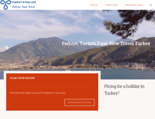 turkeysforlife.com screenshot