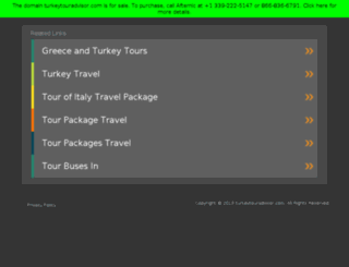 turkeytouradvisor.com screenshot