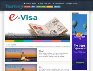 turkeytravelspecialists.com screenshot