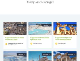 turkeytraveltours.com screenshot
