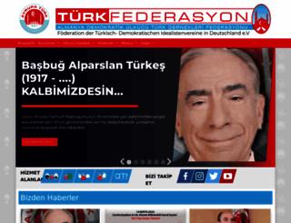 turkfederasyon.com screenshot