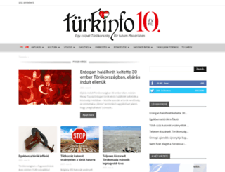 turkinfo.hu screenshot