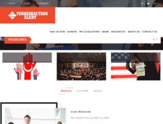 turkishactionalert.com screenshot