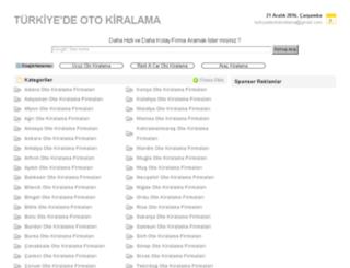 turkiyedeotokiralama.com screenshot
