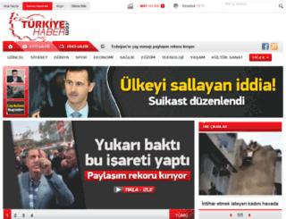 turkiyehaber.com screenshot