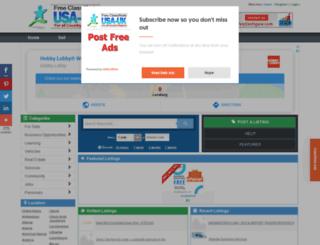 turkmenistan.usauk-classifieds.com screenshot