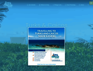 turksandcaicostourism.com screenshot