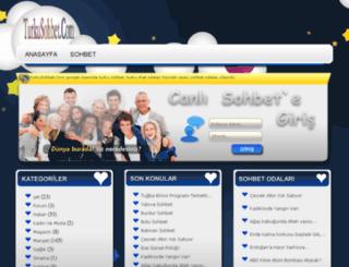 turkusohbet.com screenshot