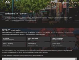 turlock.ca.us screenshot