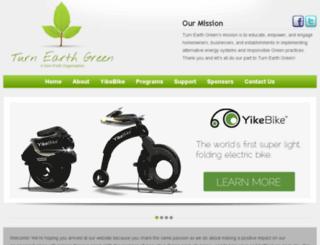 turnearthgreen.org screenshot