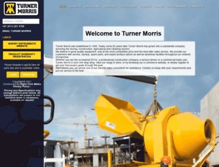 turnermorris.co.za screenshot