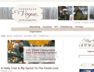 turnstylevogue.com screenshot