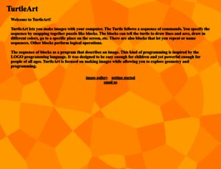 turtleart.org screenshot