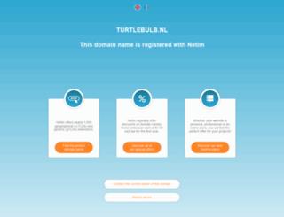 turtlebulb.nl screenshot