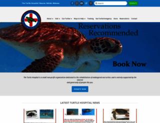 turtlehospital.org screenshot