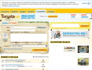 turystasos.pl screenshot