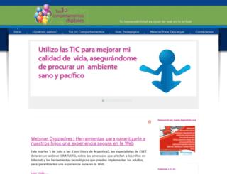 tus10comportamientosdigitales.com screenshot