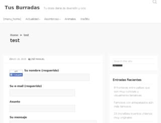 tusburradas.net screenshot