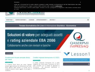 tusciafisco.it screenshot