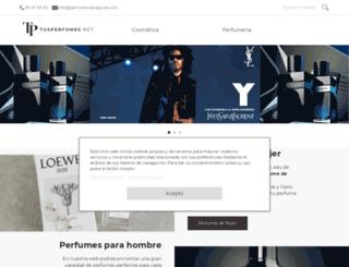tusperfumes.net screenshot