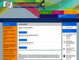 tusze.info screenshot
