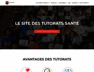 tutoratpaces.fr screenshot