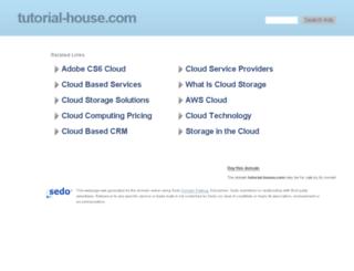 tutorial-house.com screenshot