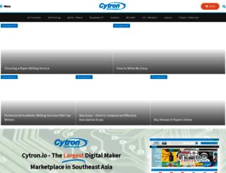 tutorial.cytron.com.my screenshot