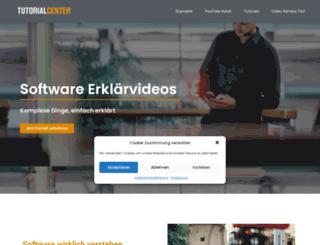 tutorialcenter.tv screenshot