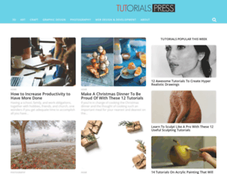 tutorialspress.com screenshot