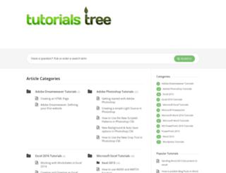 tutorialstree.com screenshot
