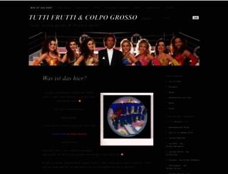 tuttifrutti1990.wordpress.com screenshot