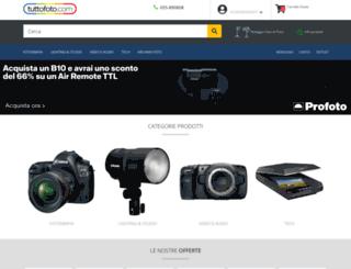 tuttofoto.com screenshot