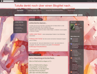 tutulla.blogspot.fr screenshot