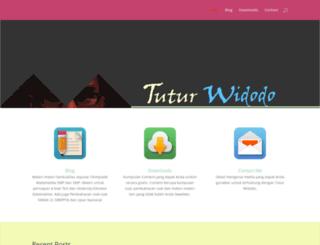 tuturwidodo.com screenshot