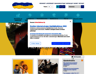 tuusula.fi screenshot