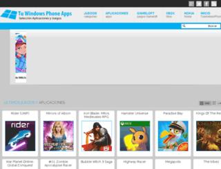 tuwindowsphoneapps.com screenshot