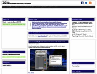 tuxarena.com screenshot