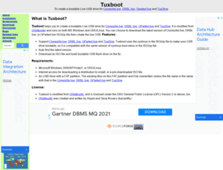 tuxboot.org screenshot