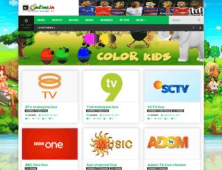 tv-online.in screenshot